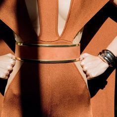 The Balmain SS17 collection has to be one of my favourites ever for it's floaty shimmering 70s inspired glamour high necks and structured shoulders. The burnt orange of this jumpsuit perfectly reflects our laid back summery mood but with a hot edge. Watch this space for a handbag newcomer featuring this firey colour #colourinspiration #style #fashion #newthingstocome #watchthisspace