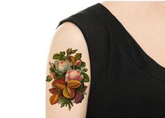 Temporary Tattoo Vintage FloralTattoo Various Patterns