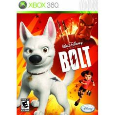Disney's Bolt - Xbox 360 by Disney Interactive Studios Disney Pixar, Disney Films, Disney Dogs, Disney Magic, Ds Games, Xbox 360 Games, Free Games, Nintendo Ds, Bolt Disney