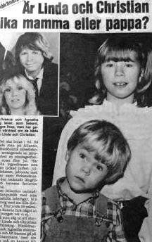 Pictures of Agnetha as a mother - Seite 17 | www.abba4ever.com