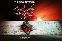 Fotografía a Roger Waters en The Wall Live