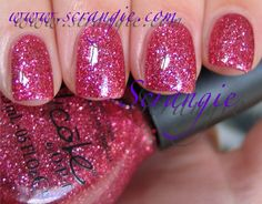 Scrangie: Nicole by OPI Kardashian Kolors Collection for Holiday 2011 Swatches and Review - Wear Something Sparkylie