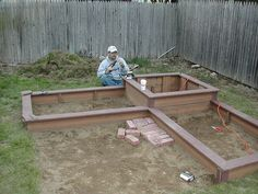 Ideas for composite raised bed gardens....