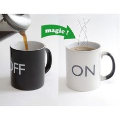 heat sensitive coffee mugs