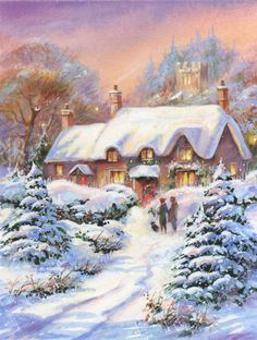 Jim  Mitchell - snowy lane1.jpg