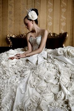 wedding gown by gladys natalia
