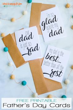 Free Printable Fathers Day Poems on Greeting Cards   Three Designs Available