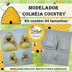 Modelador Kit Colméia Country