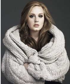 Adele new highlights and make up!!