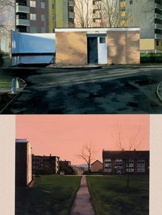 George Shaw paintings inspired by Coventry where he grew up. Nominated for Turner Prize 2011