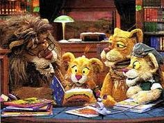 Between the Lions. I LOVED this show when I was little because it's all about reading!
