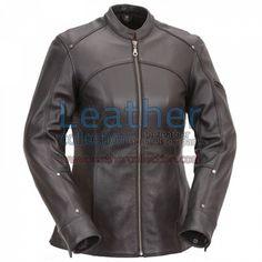 3/4 Turismo Motocicleta Chaqueta de Cuero for 153,10 € - https://www.leathercollection.com/es-es/3-4-turismo-motocicleta-chaqueta-de-cuero.html
