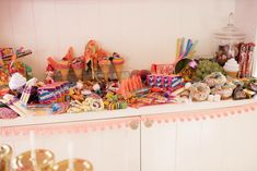 Candy grazing table for Jojo Siwa themed party! Grazing table by Forage and Gather Grazing Tables, Jojo Siwa, 8th Birthday, Toy Chest, Party Themes, Birthdays, Candy, Toys, Home Decor