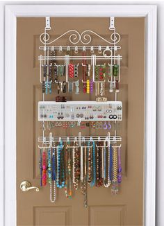 Jewelry organization and other tips for getting the most out of the space you have.