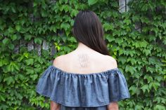 Hey guys! Holly here, again. You all know how much I love all of my Megan Nielsen Pattern makes, but I wanted to take a minute to share with you something a little different today. I'm obsessed with the off the shoulder trend going on right now, and realized it would be super easy to make! …