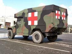 Actual HMVEE ambulance.