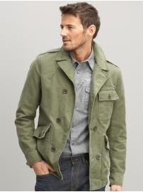 Love green on him-Banana Republic mens
