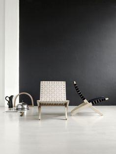 The Cuba Chair. Designed by Morten Gøttler in 1997. Produced by Carl Hansen & Søn.