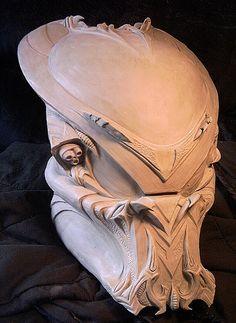 Gothic Hunter Predator Helmet by TheBigGunns on deviantART