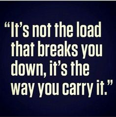The way you carry yourself says it all