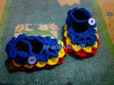 Baby shoes 'flower'
