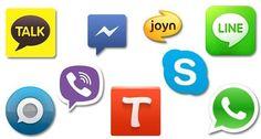 #Facebook Messenger,# Viber, #Line, #Whatsapp, #WeChat, #Kik, #TextSecure... Qui va remplacer le #SMS ?