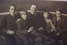 How does a mom of boys parent her sons? Edith Roosevelt, TR's wife and the First Lady who brought us to the 20 . Edith Roosevelt, President Roosevelt, Our President, Theodore Roosevelt Children, Roosevelt Family, History Of Presidents, American Presidents, Presidential Portraits, Raising Boys