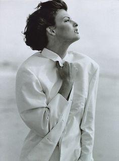 Linda Evangelista by Peter Lindbergh