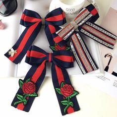 Red Rose Flower Wedding Ladies Men Pre Tied Bow Tie Brooch Pin 81357cddc80c