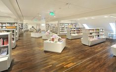 GGG City Library, Basel, Switzerland Photo: © Lilli Kehl, Basel, Switzerland Interior Design And Space Planning, City Library, Drupal, Basel, Switzerland, Stairs, Architecture, Home Decor, Arquitetura