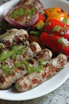 Cilantro chimichurri marinated #turkey brats with @HonestTurkey #700reasons