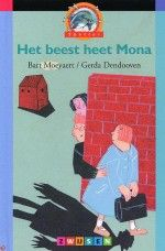 Leesplein -Het beest heet Mona Schrijver: Bart Moeyaert Illustrator: Gerda Dendooven  Mona de Bok pest. Ze pest Marta, ze pest Sam en ze pest Do. Marta, Sam en Do durven niets terug te doen. Ze klikken ook niet. Het pesten gaat door. Dan doet Marta iets wat heel slim is. (A)  Bekroningen: Griffels (Zilveren Griffel)  Leeftijd: 6-9 Uitgever: Zwijsen Verschenen: 2001 AVI-E3 / CLIB-3 ISBN: 9789027688934