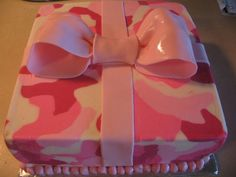 Pink Camo Cake Ideas - Bing Images