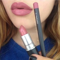 Mac 'soar' and 'brave' lipstick
