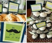 Little Man Mustaches for the cowboy party?? GREAT idea!!