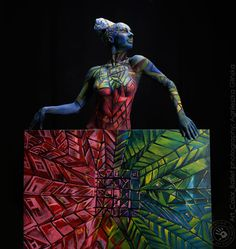 Art Color Ballet  photography: Agnieszka Glinska bodypainting: Joanna Ciesla www.baletcolor.pl