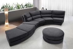 Stylish Design Furniture - 0599 - Contemporary Curvy Fabric Sofa, $2,610.00 (http://www.stylishdesignfurniture.com/products/0599-contemporary-curvy-fabric-sofa.html)