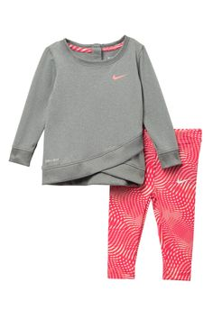 4087631eaa462 Dri-Fit Tunic With Leggings Set (Baby Girls) by Nike on  nordstrom rack