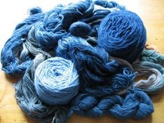 "Making and Using an Indigo Stock Solution  Thanks to Helen Melvin's booklet on indigo dyeing, ""The Colour of Sea and Sky""."
