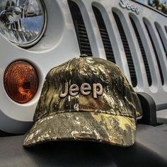 Get your Camo Pattern Jeep merchandise here! This Jeep Truetimber Camo Pattern Hat is camo colored and features a Jeep logo. Six Panel, Cotton. Jeep Wrangler Accessories, Jeep Accessories, Jeep Jk, Jeep Merchandise, Grand Cherokee Trailhawk, Pink Jeep, Mossy Oak Camo, Camo Patterns, Garage Design