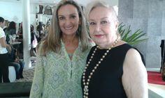 Marcia Karam Varela e Eliana Tramujas