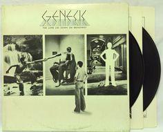Genesis The Lamb Lies Down on Broadway Porky USA Excellent 2LP Peter Gabriel