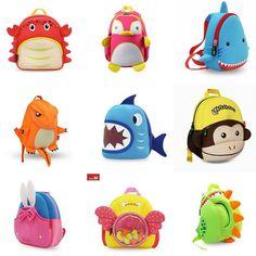 Неопреновые детские рюкзаки и сумочки Nohoo