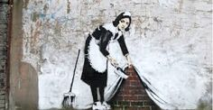 banksy cleaning