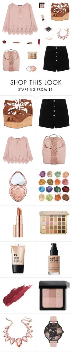 """""""Mariah"""" by belenloperfido ❤ liked on Polyvore featuring Frye, rag & bone/JEAN, Comptoir Des Cotonniers, T-shirt & Jeans, Too Faced Cosmetics, Estée Lauder, Charlotte Russe, MAKE UP FOR EVER, Lily Lolo and Bobbi Brown Cosmetics"""