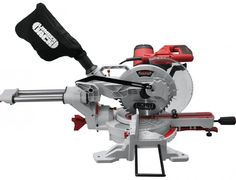 """Lumberjack Tools SCMS254DB - 10"""" Compound Sliding Double Bevel Mitre Saw 230V Woodworking - Mitre Saws -  £149.99  from our online power tool shop."""