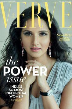 f7e167940d4 Sania on verve Bollywood Actress