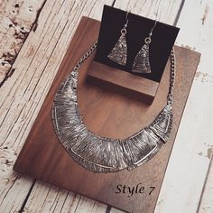 I'm going to make this display board!  Burnish Statement Necklace Set- 9 Options! | Jane