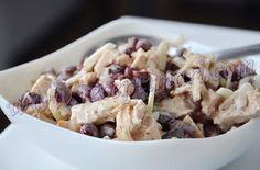 куриная грудка фасоль салат