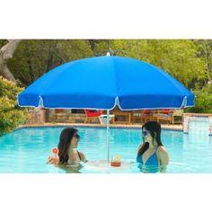 Pool Buoy Floating Bar with Umbrella